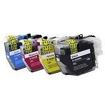 4 Pack of Compatible Brother LC-3029 Ink Cartridge