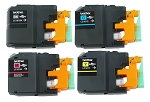GENUINE NEW Brother LC101 Ink Cartridge Vacuum Packaging 4-Pack