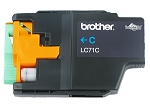 GENUINE NEW Brother LC71 Cyan Ink Cartridge No Packaging