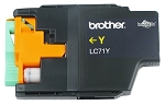 GENUINE NEW Brother LC71 Yellow Ink Cartridge No Packaging