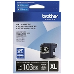 Genuine Brother LC-103BK High Yield Black Ink Cartridge