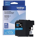Genuine Brother LC-103C High Yield Cyan Ink Cartridge