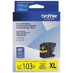 Genuine Brother LC-103Y High Yield Yellow Ink Cartridge