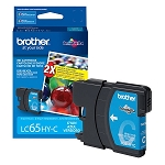 Genuine Brother LC-65C High Yield Cyan Ink Cartidge