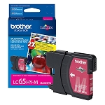 Genuine Brother LC-65M High Yield Magenta Ink Cartidge