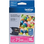 Genuine Brother LC-75M High Yield Magenta Ink Cartridge