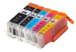 Remanufactured Canon PGI-270XL and CLI-271XL BK/BK/C/M/Y Ink Cartridge 5-Pack