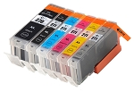 Remanufactured Canon PGI-270XL and CLI-271XL BK/BK/C/M/Y/G Ink Cartridge 6-Pack