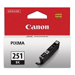 Genuine Canon CLI-251 (6513B001) Black Ink Tank