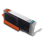 Compatible Canon CLI-251XL (6452B001) Pigment Gray Ink Cartridge w/ Chip