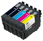 5 Pack Remanufactured Epson 200 Ink Cartridge