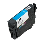 Remanufactured Epson 220 (T220220) Cyan Ink Cartridge