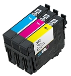 Remanufactured Epson 252 C/M/Y Ink Cartridge 3-Pack