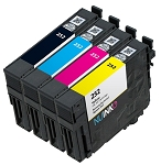 Remanufactured Epson 252 BK/C/M/Y Ink Cartridge 4-Pack