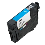 Remanufactured Epson 252 (T252220) Cyan Ink Cartridge