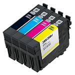 Remanufactured Epson 288XL Bk/C/M/Y Ink Cartridge 4-Pack