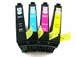 Genuine Epson 220-I Unlocked Initial Ink Cartridge 4-Pack