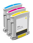 Compatible HP 10 Color Ink Cartridge - 3 Pack