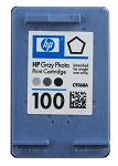 GENUINE NEW HP 100 (C9368AN) Photo Gray Ink Cartridge No Packaging