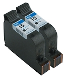 GENUINE NEW HP 15 (C6615DN) Black Ink Cartridge No Packaging 2-Pack
