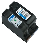 GENUINE NEW HP 45/78 (51645A/C6578DN) Ink Cartridge No Packaging 2-Pack