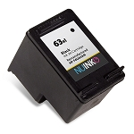 Remanufactured NUINKO HP 63XL (F6U64AN) Black Ink Cartridge