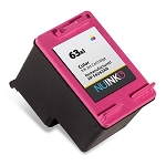 Remanufactured NUINKO HP 63XL (F6U63AN) Color Ink Cartridge