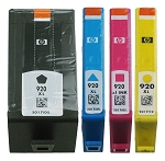 GENUINE NEW HP 920XL (CD975AN/CD972AN/CD973AN/CD974AN) Ink Cartridge No Packaging 4-Pack