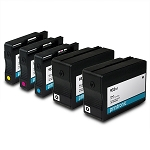 Remanufactured HP 932XL HP 933XL BK/C/M/Y Ink Cartridge - 5 Pack