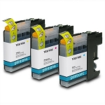 Compatible Brother LC-103 Color Ink Cartridge - 3PK