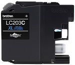 Genuine Brother LC-203C Cyan Ink Cartridge