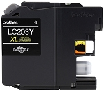 Genuine Brother LC-203Y Yellow Ink Cartridge