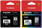 Genuine Canon PG-240XL CL-241XL Color Ink Cartridge 2-Pack