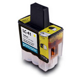Compatible Brother LC-41Y Yellow Ink Cartridge