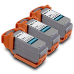 Compatible Canon BCI-11Bk (0957A003) Black Ink Cartridge 3 Pack