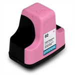 Compatible HP 02 (C8775WN) Light Magenta Ink Cartridge