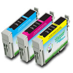 Compatible Epson* 69 (T069520) Ink Cartridges Multi-Pack Color