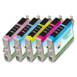 Compatible Epson* 48  (T048920) Color Ink Cartridge Multi-Pack