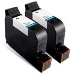 Compatible HP 45 (51645A) Black Ink Cartridge - 2 Pack