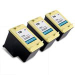 Compatible HP 110 (CB304AN) Color Ink Cartridge - 3 Pack