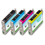 Compatible Epson 60 (T060120, T060220, T060320, T060420) Ink Cartridges - 4 Pack