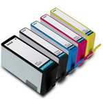 Compatible HP 564XL BK/C/M/Y,Pbk Inkjet Cartridge Set - 5 Pack