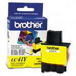 Genuine Brother LC-41Y Yellow Ink Cartridges