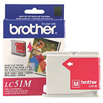 Genuine Brother LC-51M Magenta Ink Cartridge