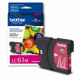Genuine Brother LC-61M Magenta Ink Cartridge