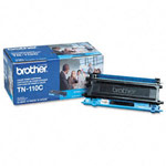 Genuine Brother TN-110C Standard Yield Cyan Toner Cartridge