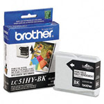 Genuine Brother LC-51HYBK High Yield Black Ink Cartridges