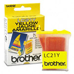 Genuine Brother LC-21Y Yellow Ink Cartridge