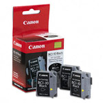 Genuine Canon BCI-10Bk - 0956A003 Black Ink Cartridge 3 Pack