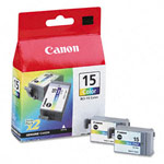 Genuine Canon BCI-15C - 8191A003 Color Ink Cartridge 2 Pack
